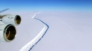Larsen C Ice Shelf, pic from NASA