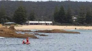 Tathra Surf Club pic from ABC