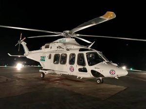 The new Agusta Westland 139. Pic from Toll Air Ambulance Facebook