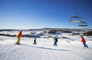 Skiing at Perisher. Source NSW National Parks