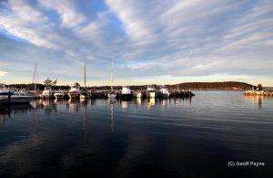 Batemans Bay Marina. Source: Chamber FB page by Geoff Payne