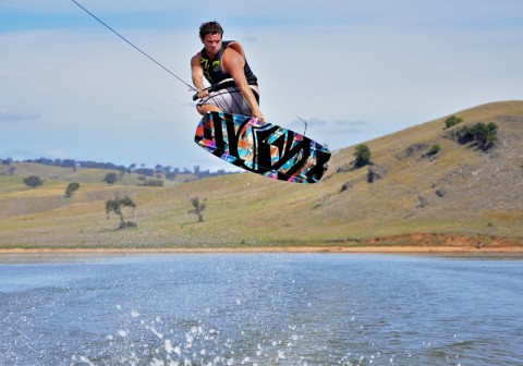 Burrinjuck is well suited to all kinds of sports on the water. Photo: supplied.