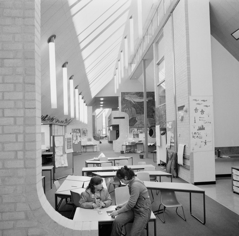 Giralang Primary school, designed by Enrico Taglietti. Photo: from the collection of the NAA.