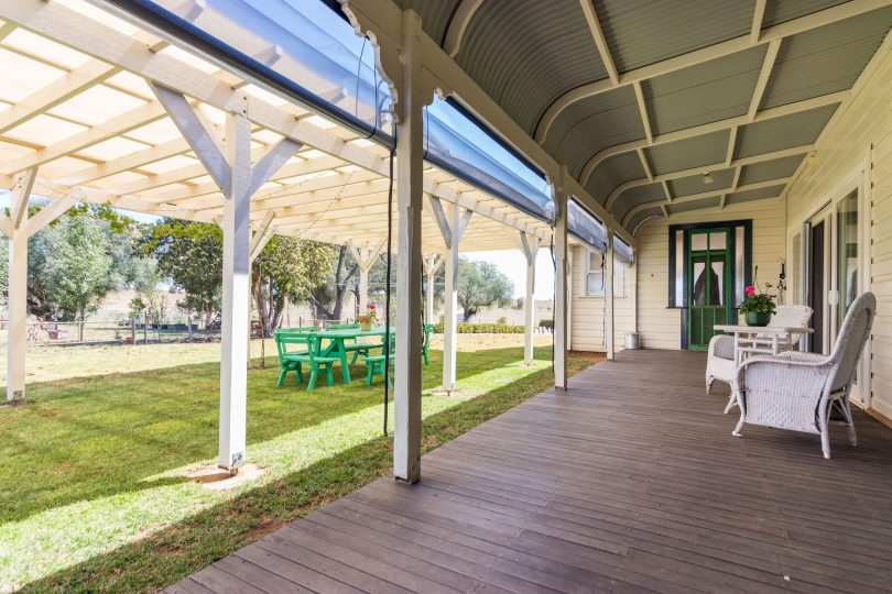 Surely with entertaining areas this size a wedding venue business is an option? Photo: Supplied