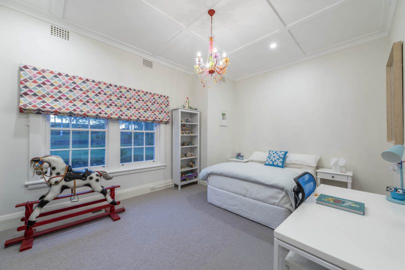 Views and built in robes in the secondary bedrooms