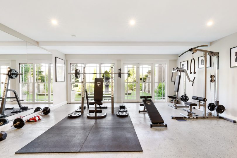 Complete with gymnasium