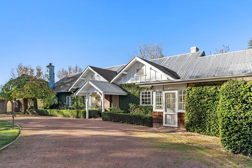 The historic Walgrove homestead.