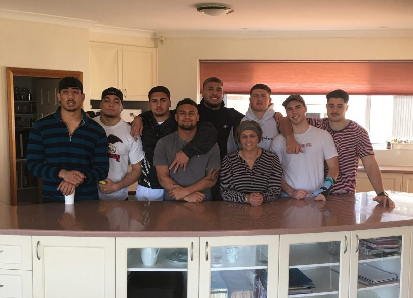 Sharon Clarkson and the Raiders family home