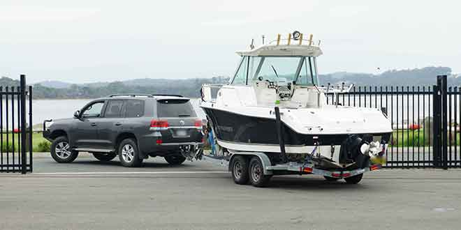 Car and boat