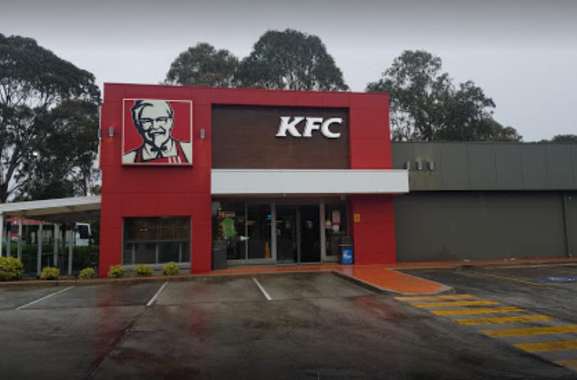 KFC restaurant at Queanbeyan