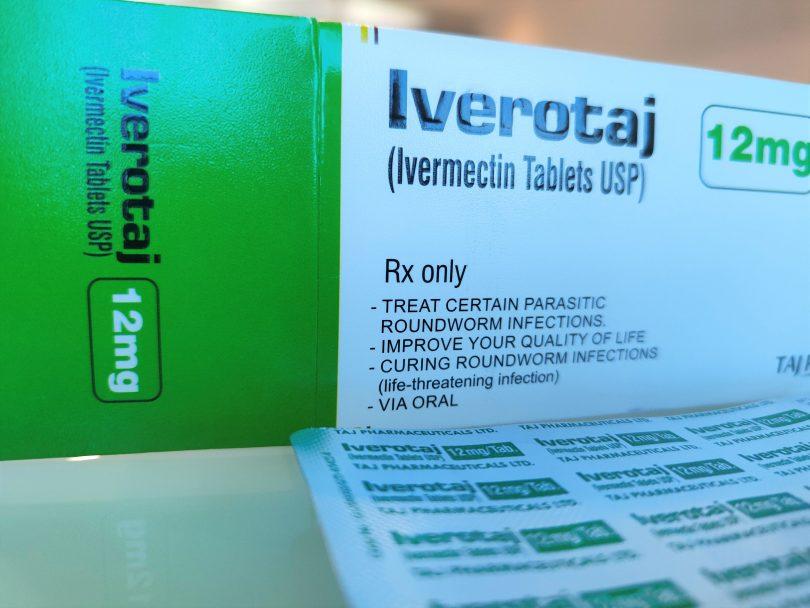 Box of Iverotaj ivermectin tablets