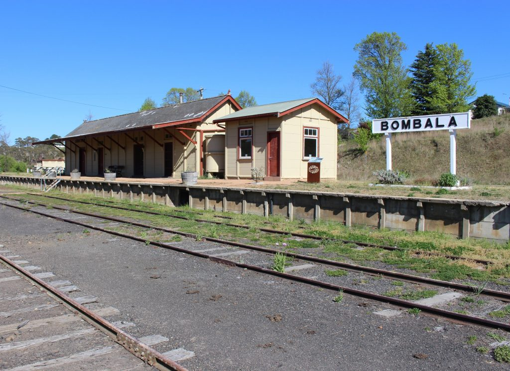Bombala Railway Station. Photo: Ian Campbell.