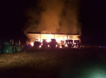 Feed goes up in flames, Cooma couple arrested