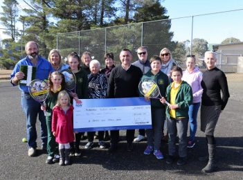 Tennis courts resurfaced, showground pavilion makeover and new school playground as NSW Government hands out funds