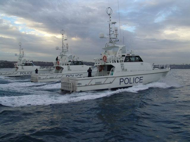 Police stopped nearly 500 vessels during a two-day marine compliance operation. Photo: Marine Area Command Facebook.