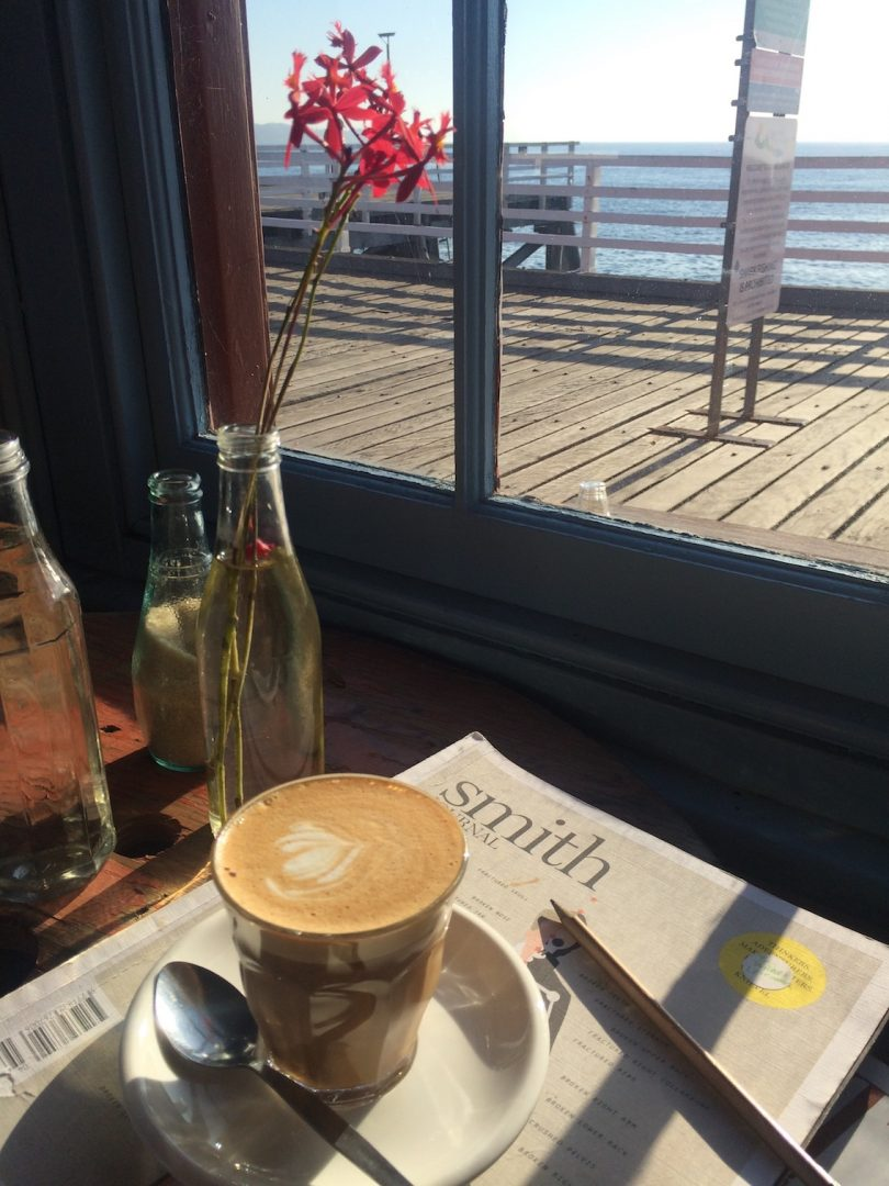 Wharf Local at Tathra is beautifully situated over the water. Photo: Somersault Media