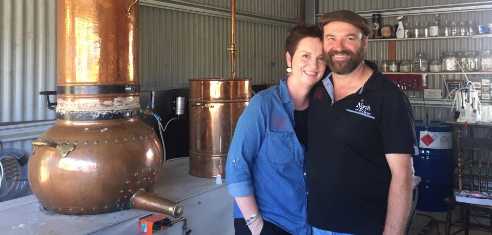 Gin distillery springs from old dairy country, 'North of Eden'