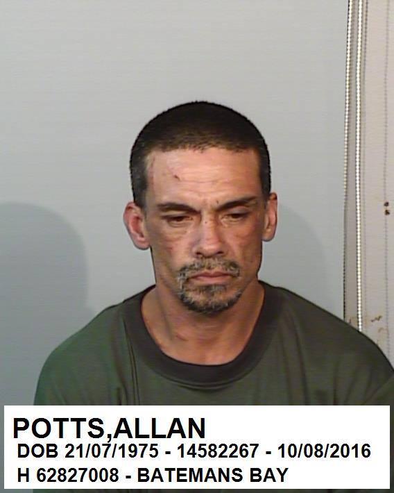 Allan Potts. Photo: South Coast Police District Facebook.