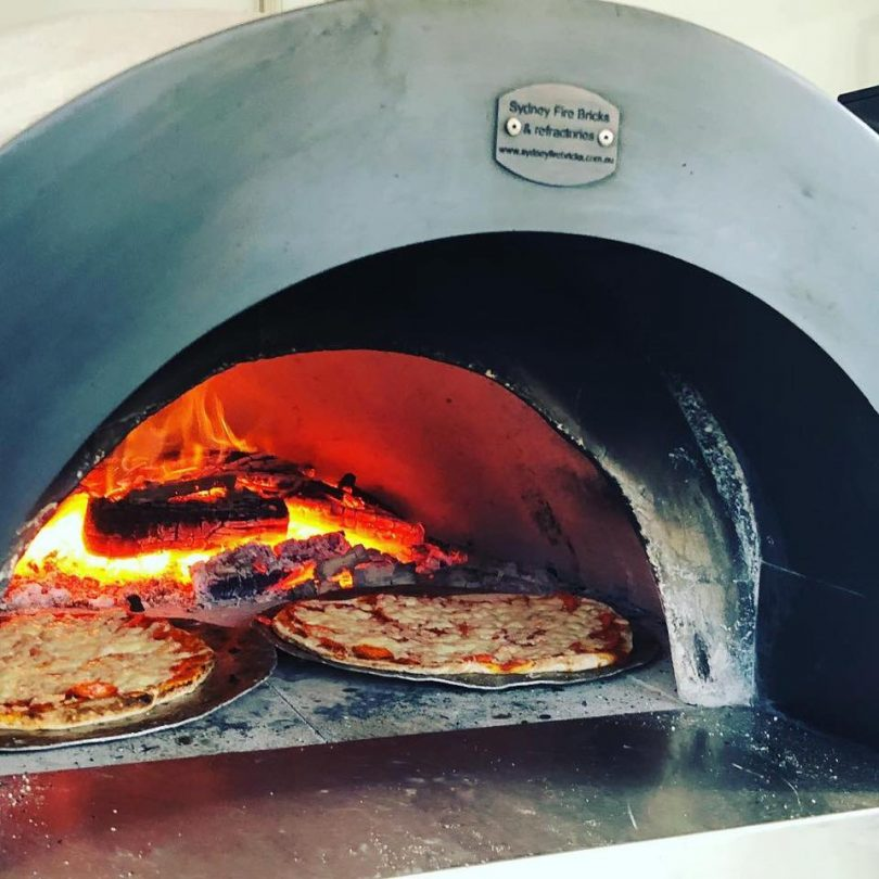 Sapphire Coast Eats will be cranking up the wood fire for pizzas at Food Truck Friday. Photo: Facebook
