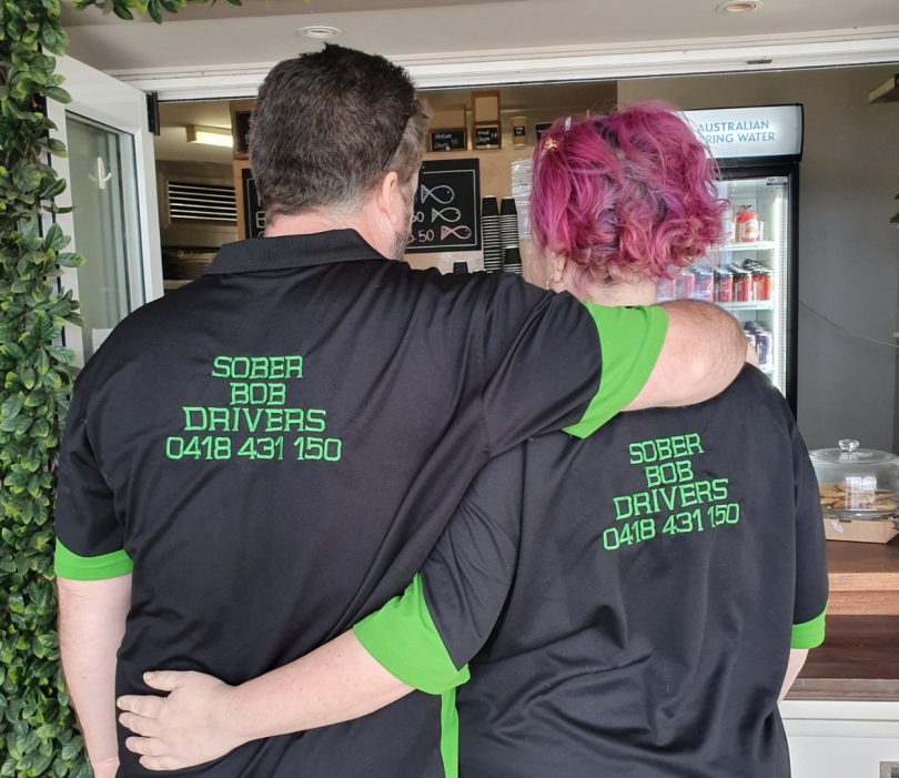 Part of the inspiration for starting Sober Bob's comes from knowing their 15-year-old twins will soon be driving. Photo: supplied.
