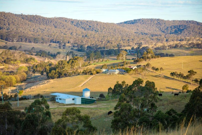 Rolling hills and river views make Brianberry an attractive prospect. Photo: Supplied.