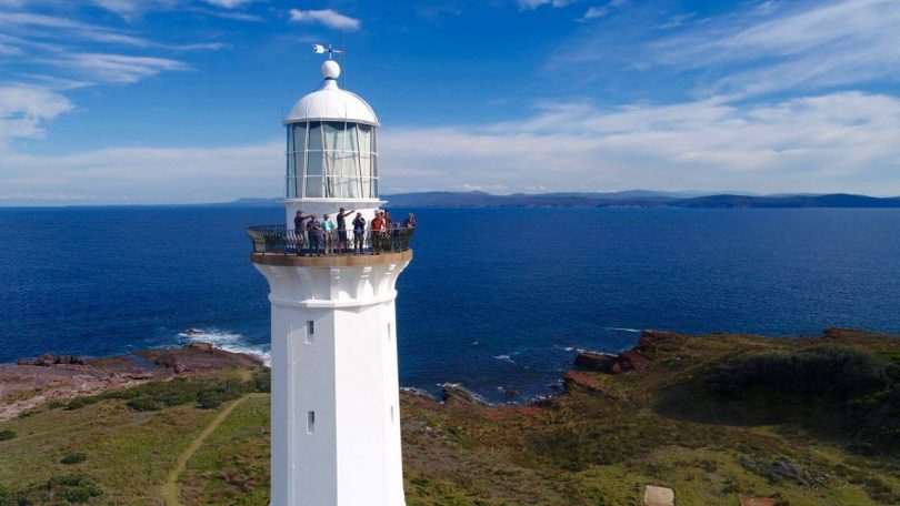 The end of the track Green Cape Lighthouse. Photo: Light 2 Light Coastal Walks.