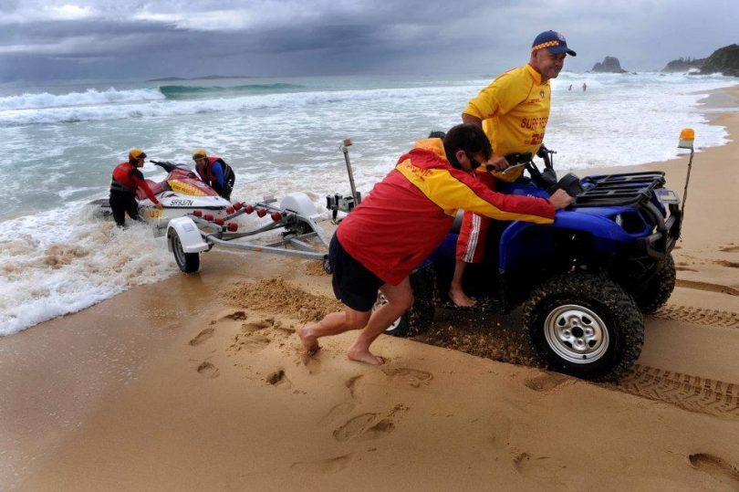 Far South Coast Surf Life Savers. Photo: Surf Life Saving Far South Coast Facebook.
