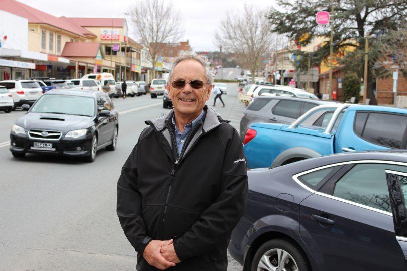 Snowy Monaro Mayor Peter Beer in Cooma. Photo: Ian Campbell.