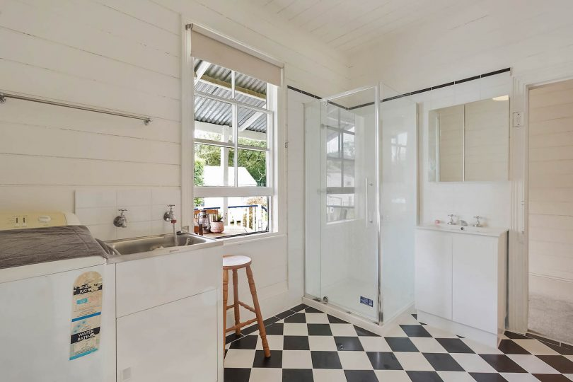 Bright and light, renovated bathroom. Photo: supplied