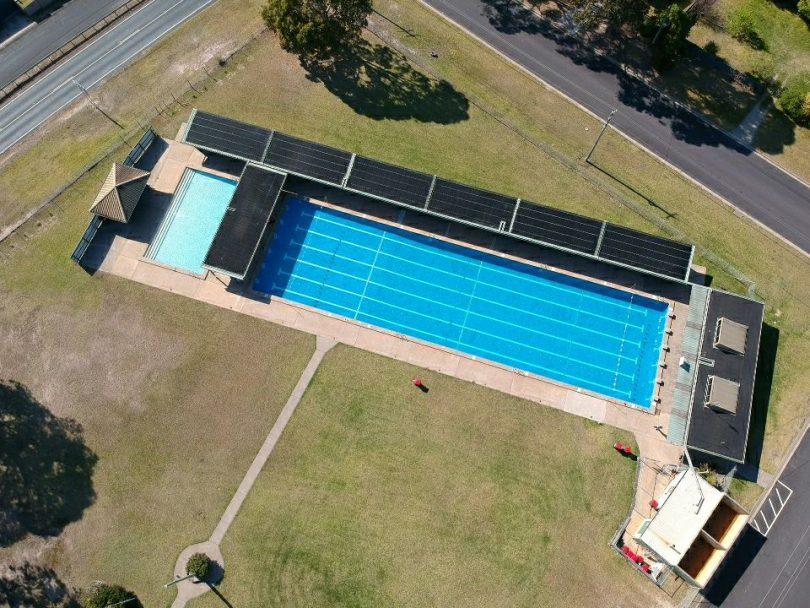 Eden Memorial Pool. Photo: Eden Memorial Pool Facebook.
