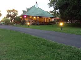 The grounds of Covington's in Pambula.