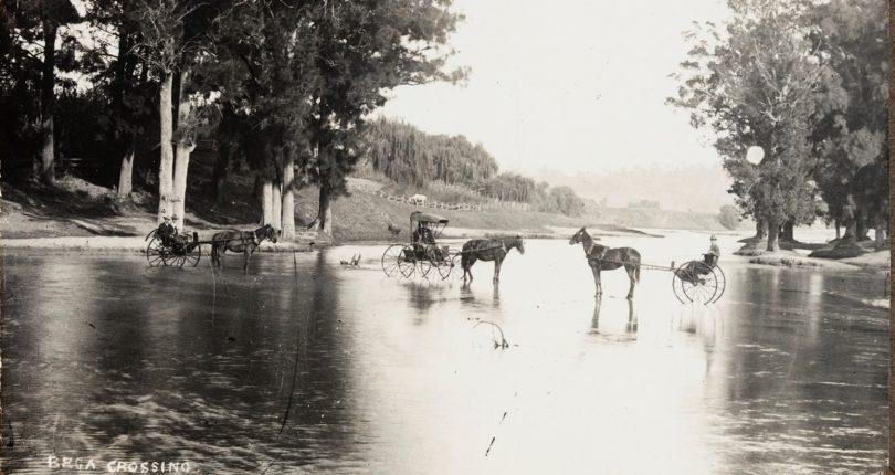 Historical photo of Bega Crossing